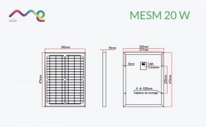Panel Me Solar 20 W