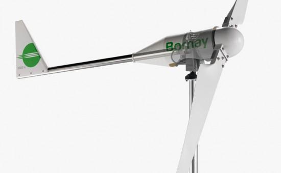 Aerogenerador Minieólica Bornay 3000