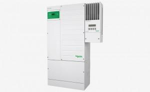 Inversor/Cargador Schneider Conext XW+, Sistema con CB y Regulador MPPT