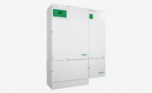 Inversor / Cargador Schneider Conext XW+, Sistema con caja de conexiones y Regulador MPPT 80