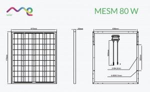 Panel Me Solar 80W