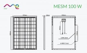 Panel Me Solar 100 W