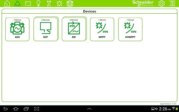 Sistema de monitorización Conext ComBox
