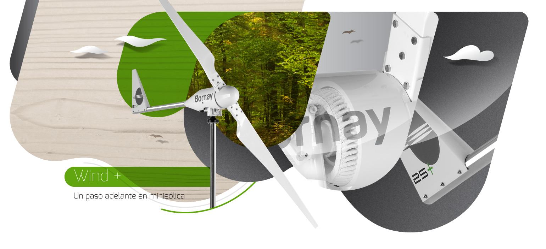 Aerogeneradores Wind Plus